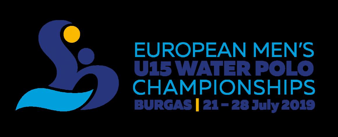 Европейско първенство по водна топка за младежи U15 Бургас 21-28 юли 2019