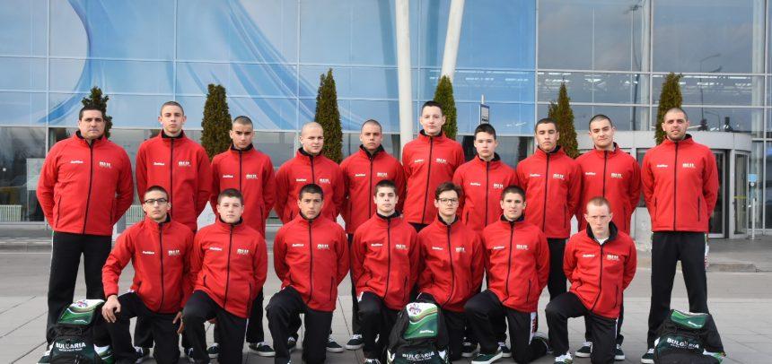 Три загуби на националите U15 на турнира в Тбилиси