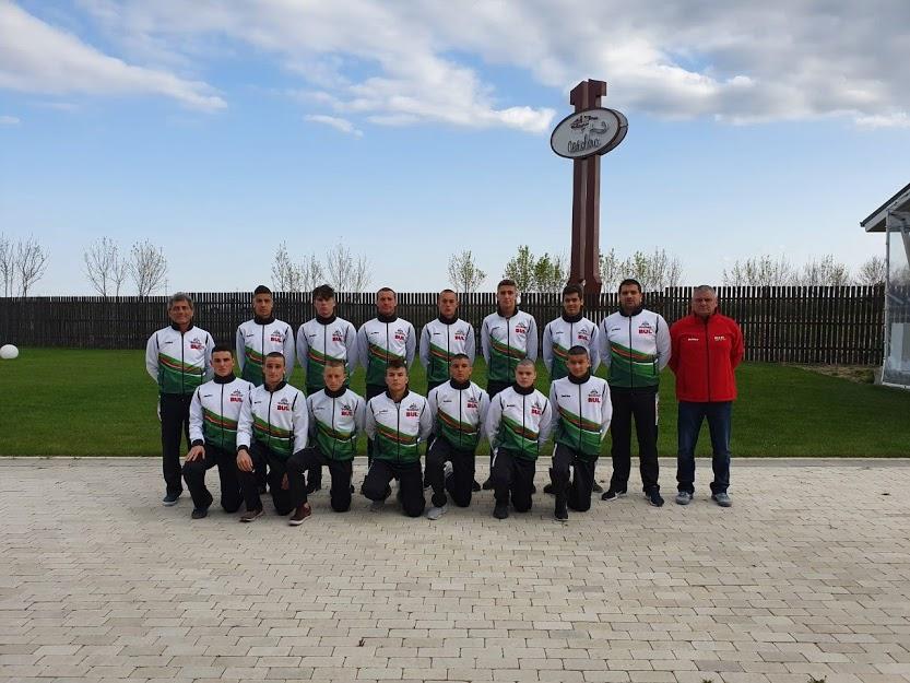 Националите U17 срещу Молдова, Румъния и Беларус на турнир във Фокшани