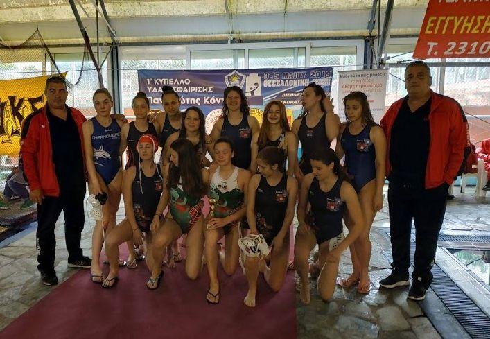 Националният отбор за девойки U17 спечели турнира в Солун
