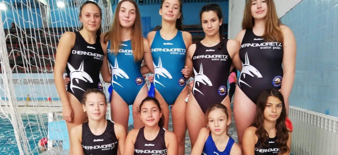 Черноморец поведе при девойките U17
