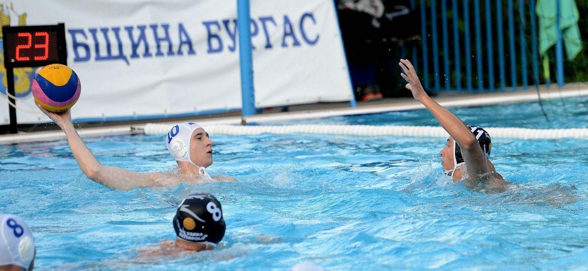 КПС Варна, Черноморец, Черно море и Ботев 2000 на Суперфинал при мъжете U17
